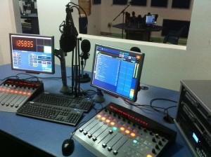 Radio-Gold,-Accra,-Ghana,-On-Air-&-Talk-Studio